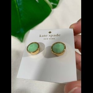 kate spade Jewelry - NWT Kate spade Round Bezel Gumdrop Stud Earrings